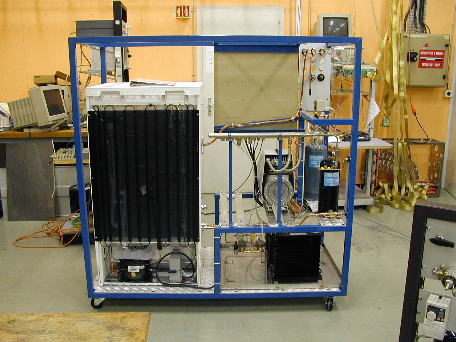 atlas tracker    evaporative cooling unit for rutherford